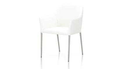 Esteli Top Grain Leather Dining Chair
