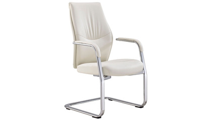 Franklin Guest Chair - White