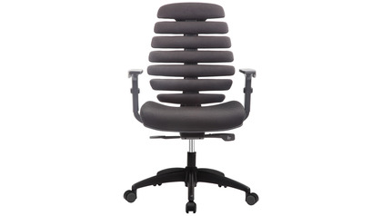 FX2 Fabric Swivel Chair with Adjustable Arms