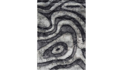 Galaxy Smoke Shag Rug