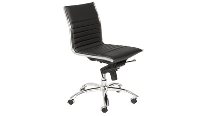Kinsey Low Back Armless Office Chair