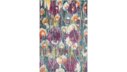 Monet Poppies Rug