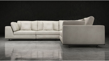 Persis 2 Arm Corner Sectional Sofa
