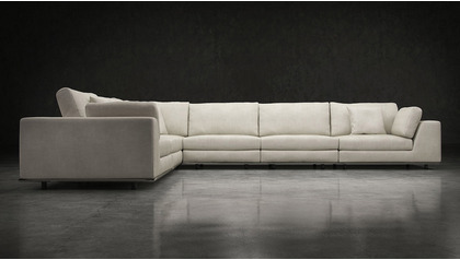 Persis Extra Seating L Sectional Sofa