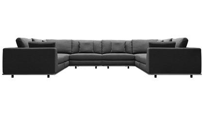 Persis U Sectional Sofa