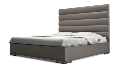 Reina Bed - Castle Gray