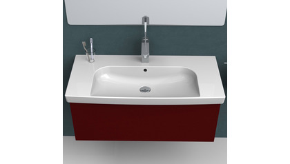 Roma Rectangle Ceramic 37 Inch Sink