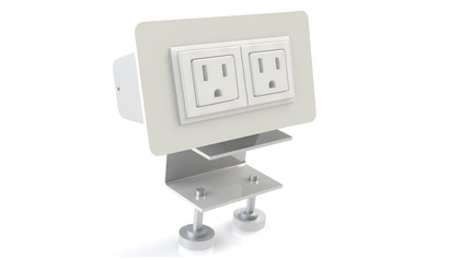 EYHOV RAIL Desk Mounted Power Unit Accessory