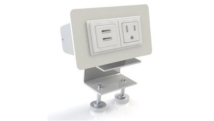 EYHOV RAIL Desk Mounted Power Unit Set Accessory