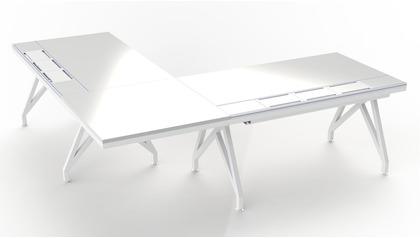EYHOV RAIL Executive Desk Workstation