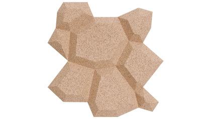 Beehive Cork Organic Blocks Wall Design