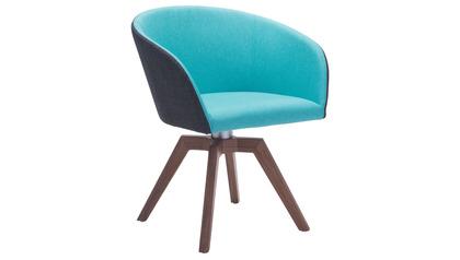 Tate Swivel Dining Chair - 2 PC Set
