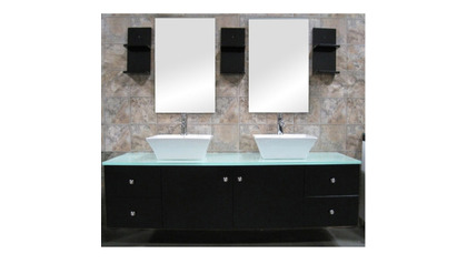 "Taylor 61"" Double Sink Vanity Set"
