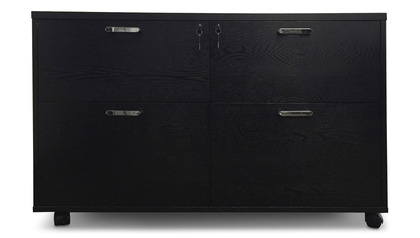 Warren Filing Cabinet - Black Oak