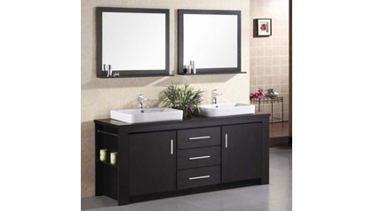 "Weston 72"" Double Sink Vanity Set"