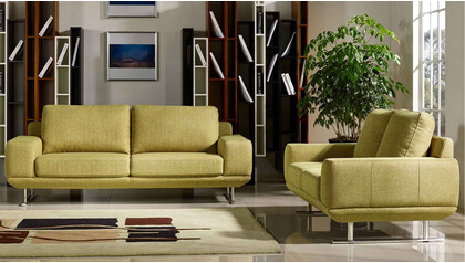 Della Sofa and Loveseat Set