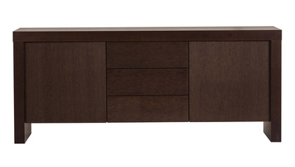 Zion Sideboard with Drawers - Chocolate
