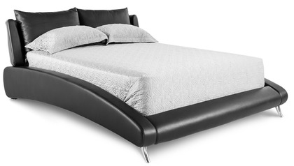 Cadillac Leather Bed - Black
