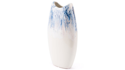 Ombre Small Vase Blue & White