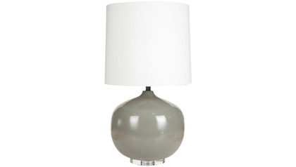 Parlen Gray Table Lamp