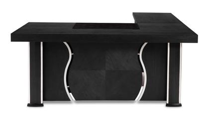 Pierce Desk - Black Oak