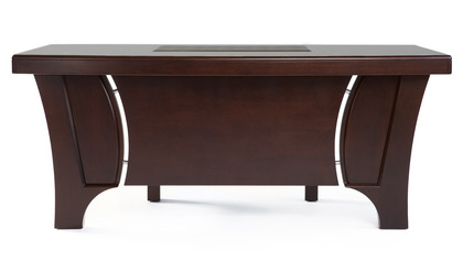 Quincy Desk - Dark Walnut