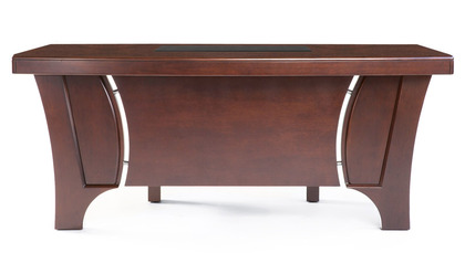 Quincy Desk - Light Walnut