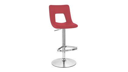 Red Jazz Bar Stool