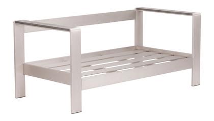 Rivera Sofa Frame Brushed Aluminum