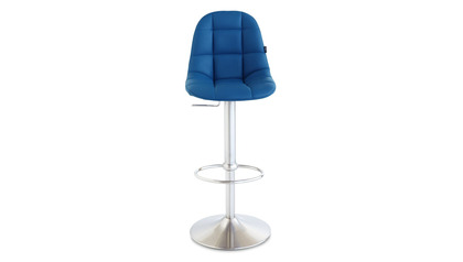 Rochelle Blue Bar Stool