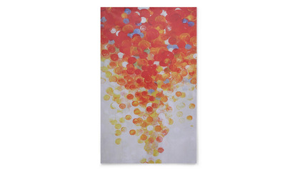 "Scarlet Tempest Canvas Art - 80"" x 50"""