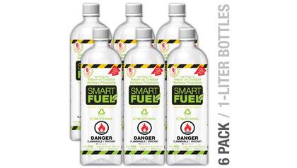 Smart Liquid Bio-Ethanol Fuel - 6 Pack
