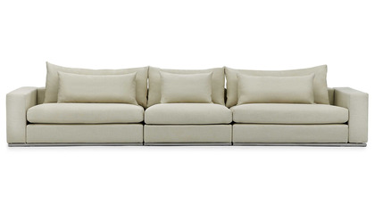 Soriano Long Sofa - Beige