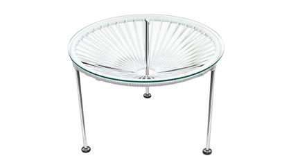 Zica Table - Chrome Frame
