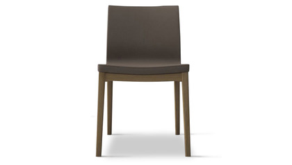 Trasimeno Dining Chair (Set of 2) - Dove Gray on Natural Oak