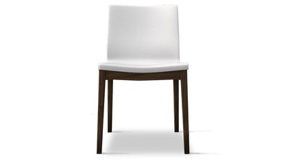 Trasimeno Dining Chair (Set of 2) - White on Canaletto Walnut
