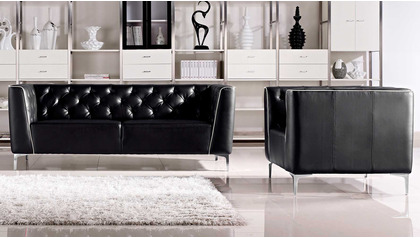Tux Sofa Set with 2 Armchairs