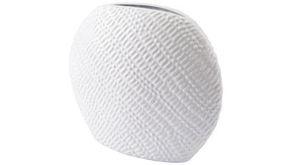 Urchin Round Vase Small White