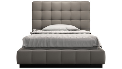 Verona Bed - Castle Gray