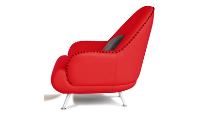Vitali Chair - Red