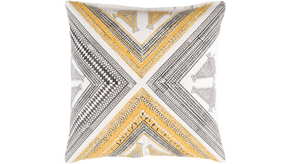 Rufiji Throw Pillow with Down Insert