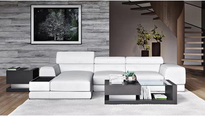 Encore Sectional - White