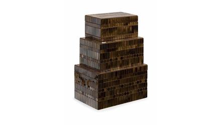 Chai Mosaic Boxes - Set of 3