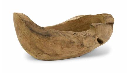 Macaque Teakwood Long Bowl