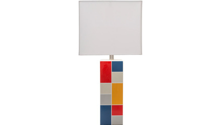 Piet Rectangle Table Lamp