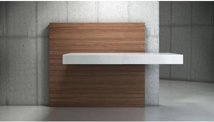 Arya Desk - Walnut
