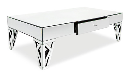 Azure Mirrored Coffee Table