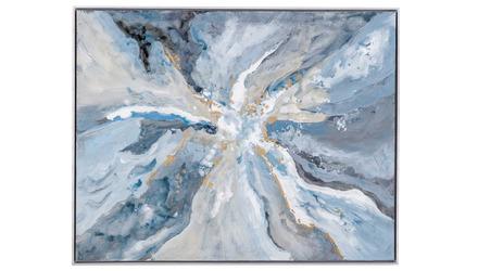 """Center Earth Framed Art - 39"""" x 49"""""""
