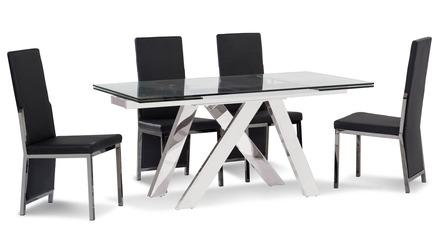 Cruz Dining Table - Clear