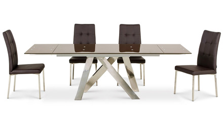 Cruz Dining Table - Brown